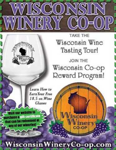 Wine tasting on the Wisconsin Winery Tour