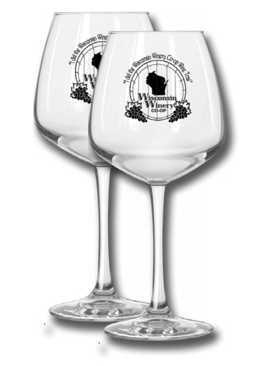 Win wine glasses for taking the Wisconsin Winery wine tasting tour.
